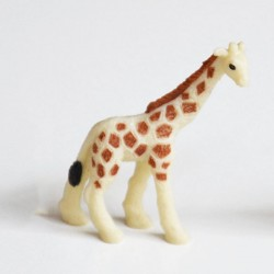 Mini figurine girafe