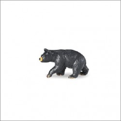 Mini figurine ours brun