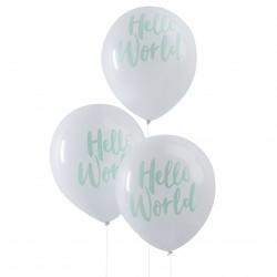 10 ballons Hello World
