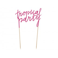 1 topper Tropical Party