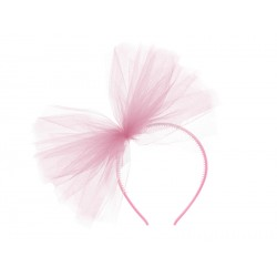 Tulle Headband - Rose clair