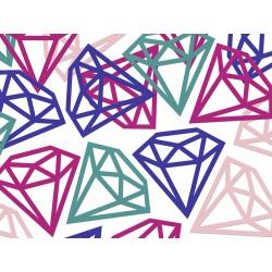 12 confettis diamant