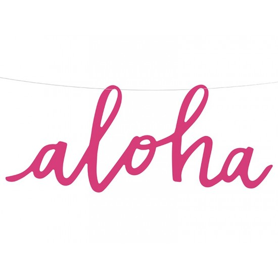 1 guirlande Aloha