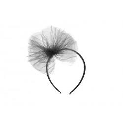 Tulle Headband - Noir