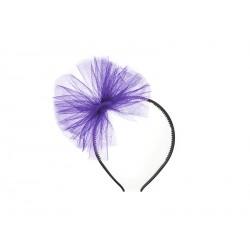 Tulle Headband - Violet