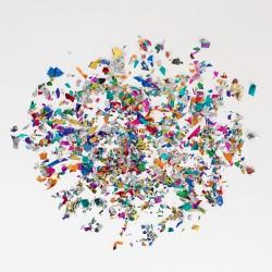 Sac de confettis métallisés-mylar