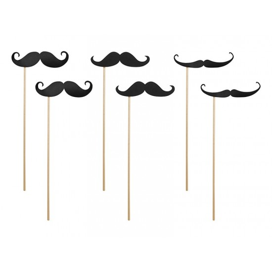 6 Sticks moustache