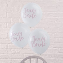 10 ballons Team Bride