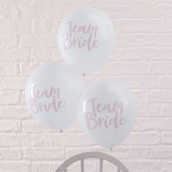 10 ballons Team Bride