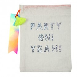 "4 party bags""Party on Yeah"""