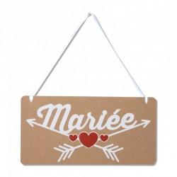 Pancarte chaise de la mariée