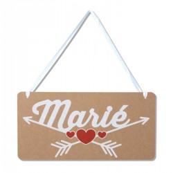 Pancarte chaise du marié