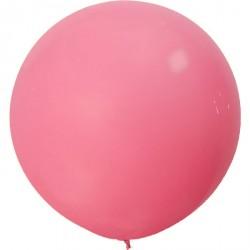 Ballon géant - rose bonbon