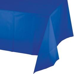 1 nappe plastique bleue