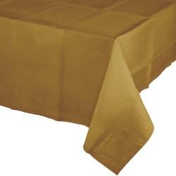 1 nappe plastique dorée
