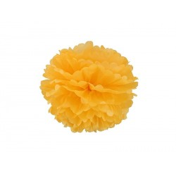 Pompon jaune or