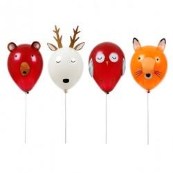 Kit ballon animaux de la forêt