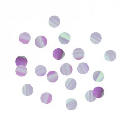 Confettis iridescents