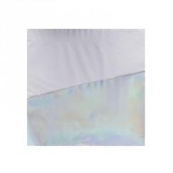 16 serviettes iridescentes 33x33cm