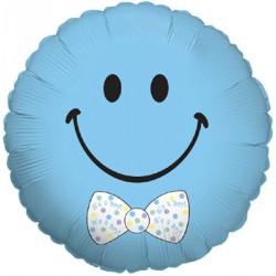 1 ballon mylar smiley baby boy