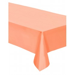 1 nappe rectangle corail