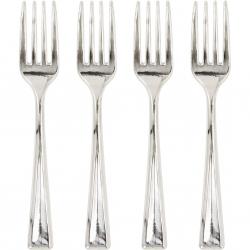 24 mini fourchettes - Argent