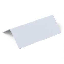 10 marque places blanc
