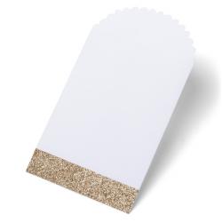8 pochettes - glitter cuivre