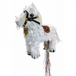 1 pinata cheval de cow boy