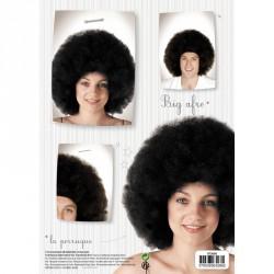 1 perruque big afro noire