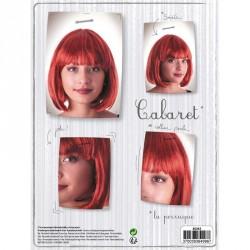 1 perruque cabaret rousse