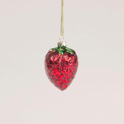 1 boule de Noël fraise