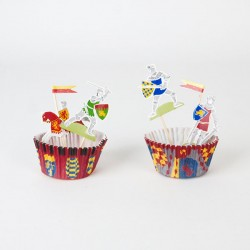 Kit cupcake chevalier