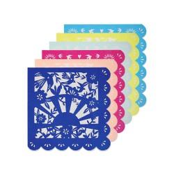 20 serviettes fiesta