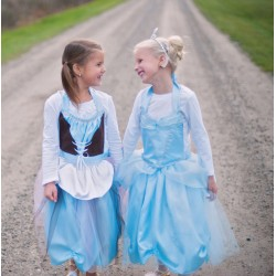 Tablier Cendrillon reversible Tablier 4-7 ans