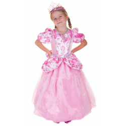 Robe princesse rose 5-6ans