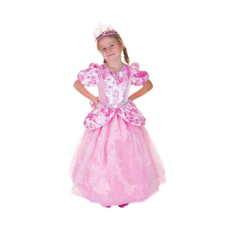 c0a2e76152d Robe princesse rose 5-6ans - Happy Family