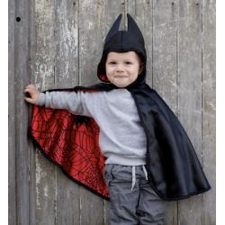 Cape réversible Batman-spiderman bébé 1-2ans