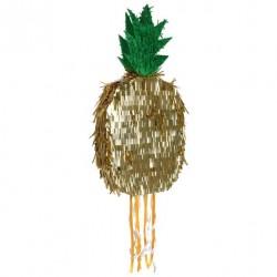 Pinata - Ananas dorée