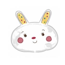 Ballon aluminium - Petit lapin Mr bunny