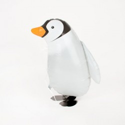 Ballon marcheur mylar-Pinguin