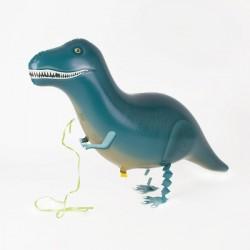 Ballon marcheur mylar- T-rex