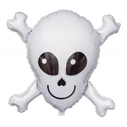 Ballon mylar- Happy skull