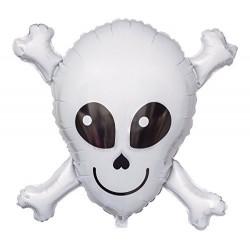 Ballon mylar- Happy skull