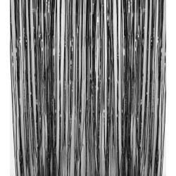 1 rideau mylar noir 91x245cm