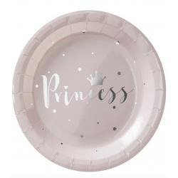 8 assiettes - Princesse