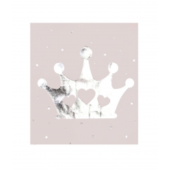 16 serviettes - Princesse couronne