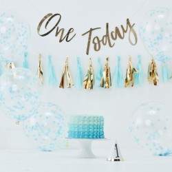 "1 kit anniversaire ""One today"" garçon"
