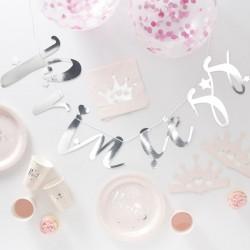 1 kit d'anniversaire princesse (16 personnes)