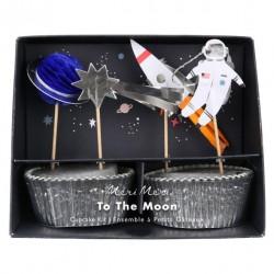 Kit 24 cupcakes - Espace